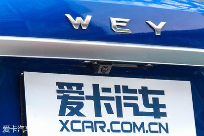 升级后配置再提升 实拍WEY 新VV6旗舰型