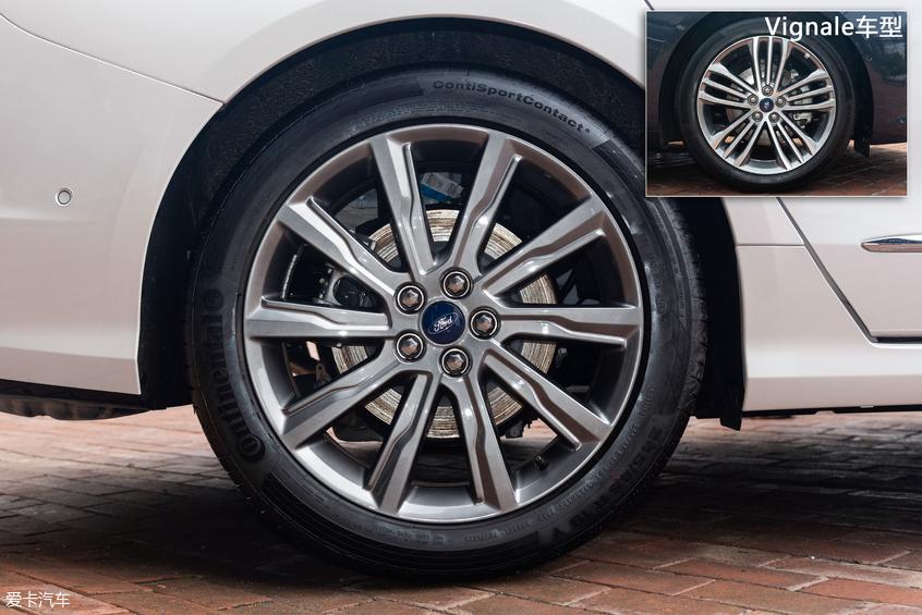 新款福特金牛座:轮圈