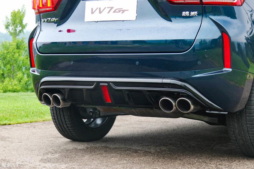 实拍WEY VV7 GT 专属于溜背的翘臀诱惑