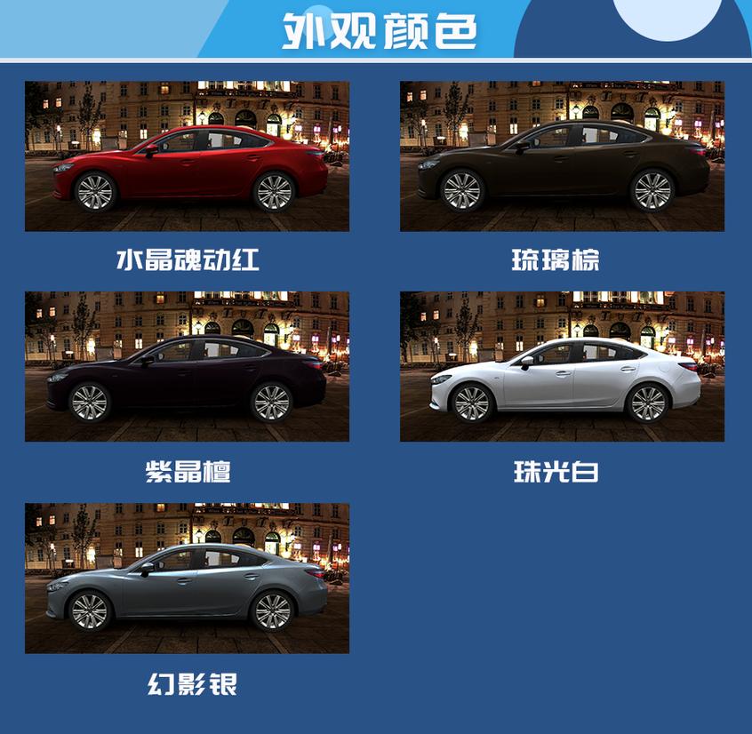 全新一代阿特兹购车手册:尺寸及动力介绍