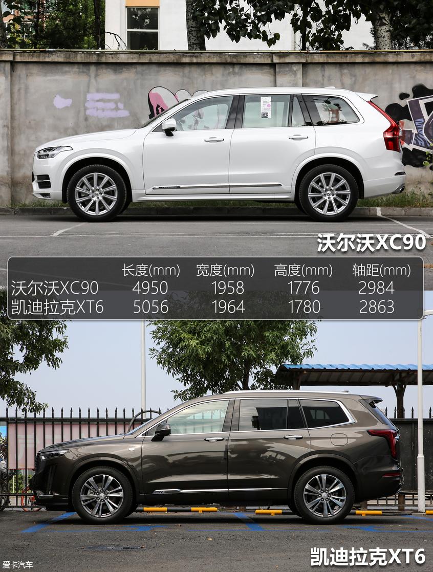 进口PK合资 沃尔沃XC90对比凯迪拉克XT6