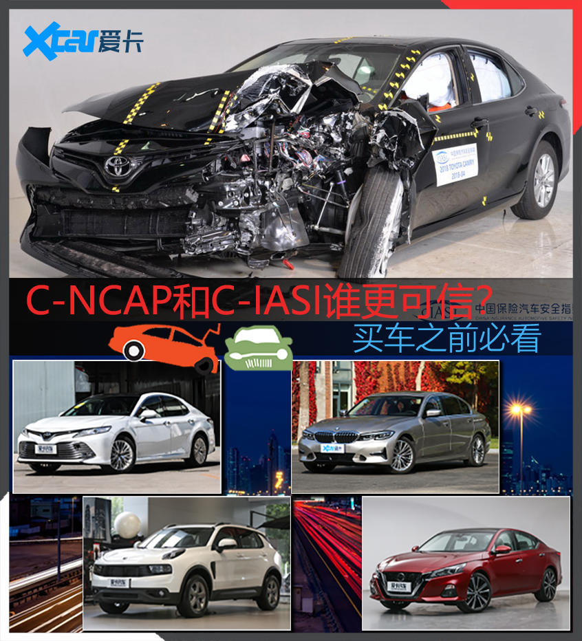 C-NCAP还是C-IASI 碰撞测试谁更靠谱?