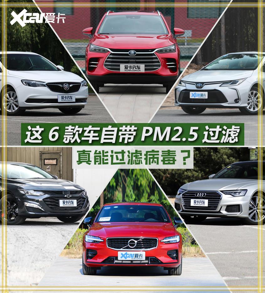 自带PM2.5过滤这几款车真能过滤病毒?