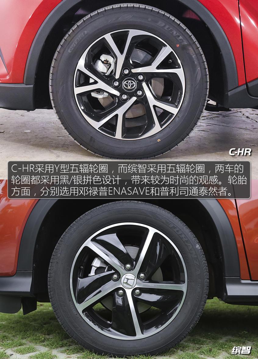 C-HR/缤智该选谁?日系小型SUV焦点战