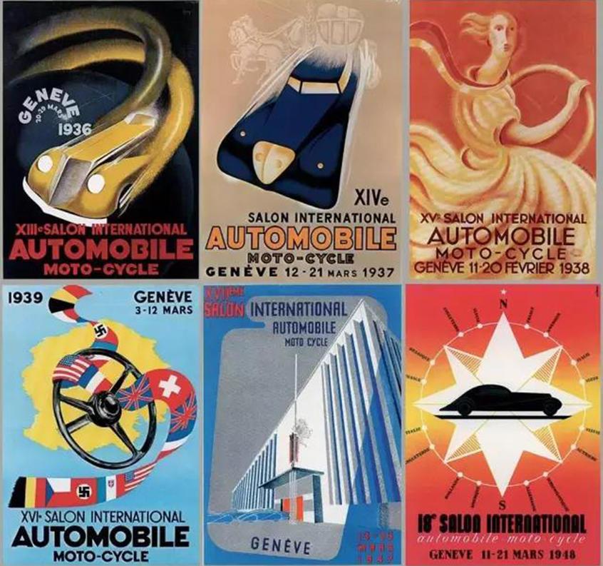 汽车展跌宕的历史
