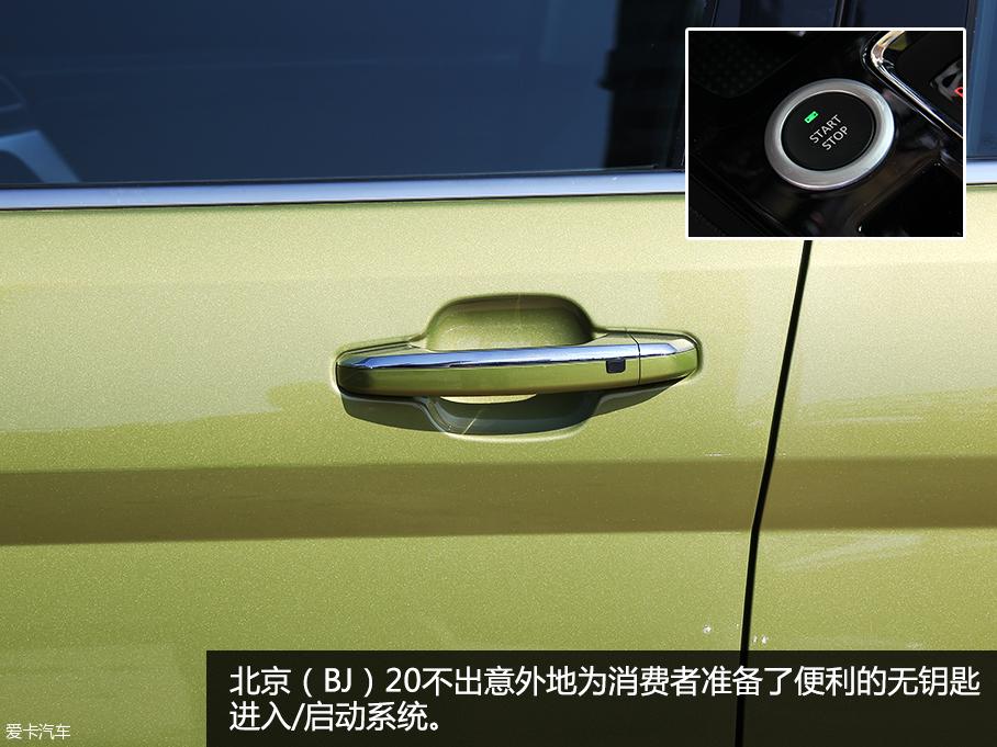 实拍北京(BJ)20