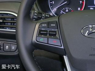 实拍北京现代全新悦动