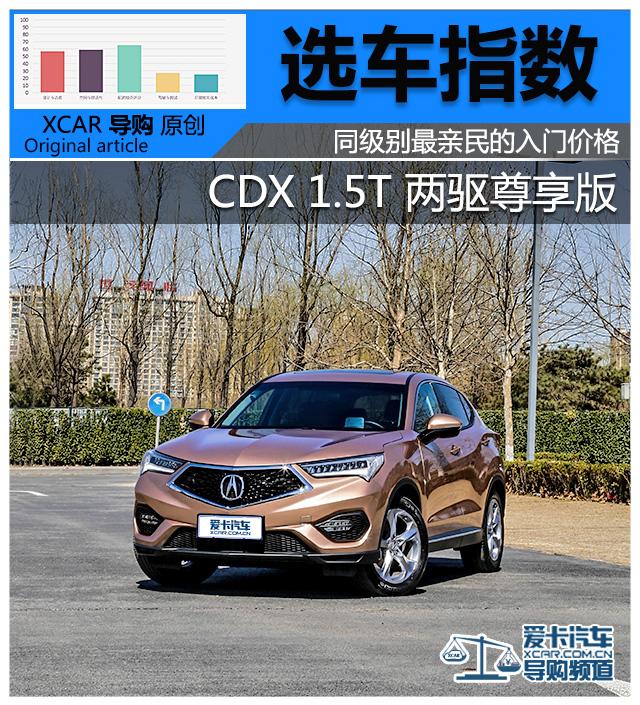 CDX购车指数