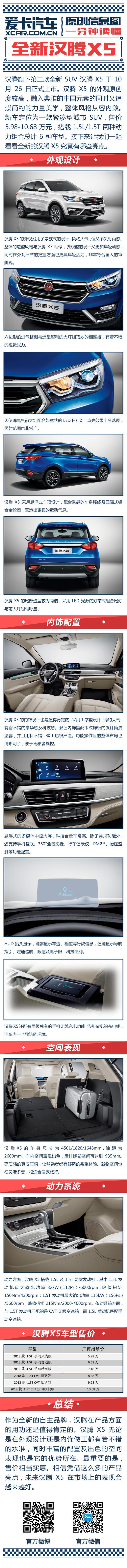 汉腾汽车2018款汉腾X5
