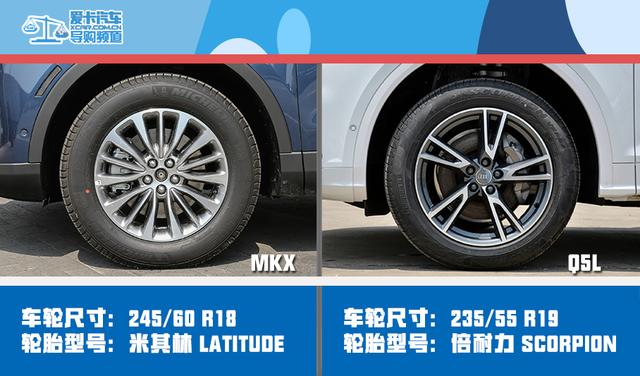 MKX对比Q5L