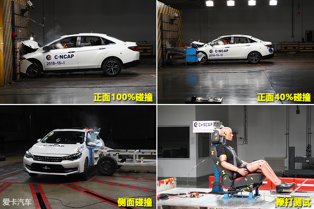 2018年C-NCAP第二批成绩