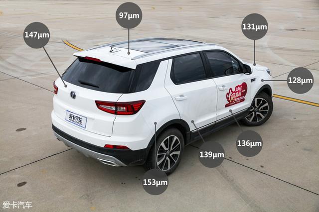 4款中国品牌SUV对比