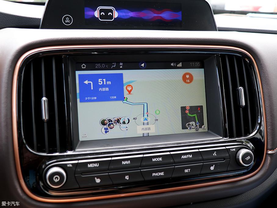 GE3内置了腾讯地图以及高德地图,其中腾讯地图可通过微信小程序进行组队,并可在微信设定集结点后直接显示在车载导航上,十分便捷。