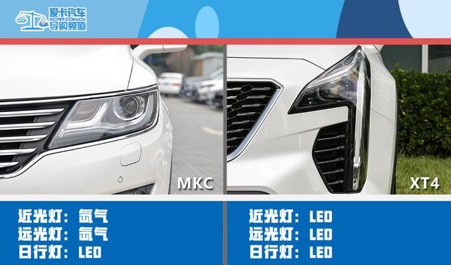 美式SUV对决 林肯MKC对比凯迪拉克XT4