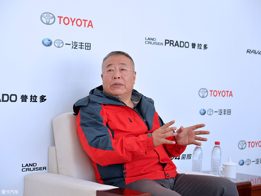 开营仪式结束后,我们就此次活动及一汽丰田SUV家族布局等问题对刘振国先生进行专访。