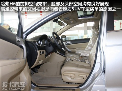 爱卡北京实拍长城汽车哈弗h6