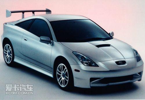 1999年的Celica XYR概念车,七代Celica的雏形 在丰田已经...