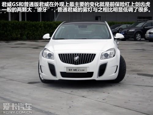 上海通用别克 2012款君威GS