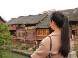 清水江上的明珠 贵州下司古镇魅力非凡