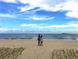 度假模式已开启 三亚海风习习风和日丽