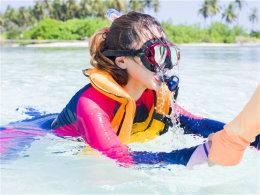 探索马尔代夫 登陆Guraidhoo岛海底世界
