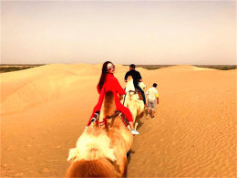 遇见多样的风景和人 探塔克拉玛干沙漠