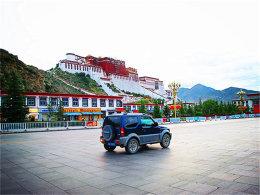 伟大的旅程 开着吉姆尼游览甘青新藏川