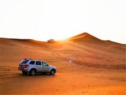 """纵横荒野出去""""浪"""" 谱写沙漠色彩芬芳"""