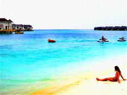 马尔代夫风光旖旎 撒在印度洋上的珍珠