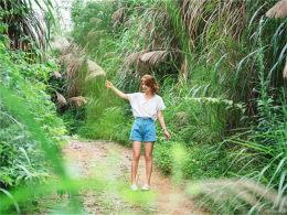 在竹林里走走停停 享受安吉的小资情调