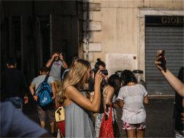 罗马,假日  一个非常适合扫街的地方