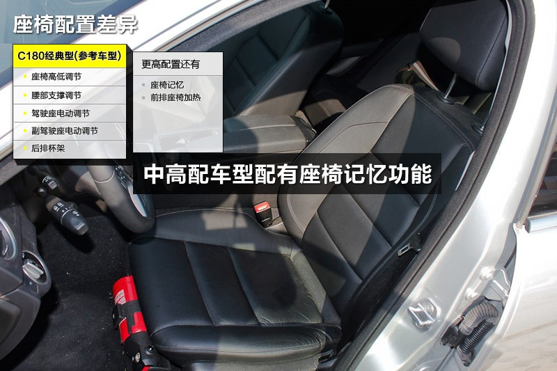 奔驰C级 2013款-配置差异(<em>30</em>/100)