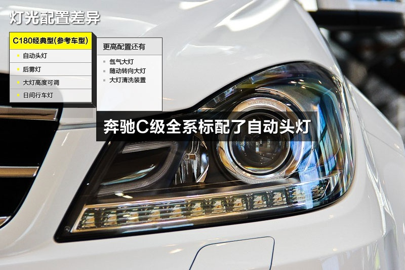 奔驰C级 2013款-配置差异(<em>27</em>/100)