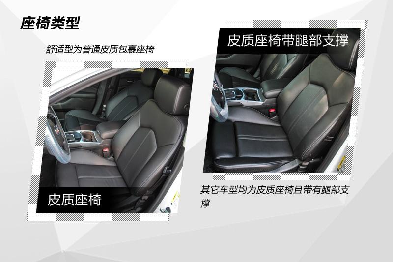 凯迪拉克SRX 2013款-座椅类型(<em>21</em>/89)