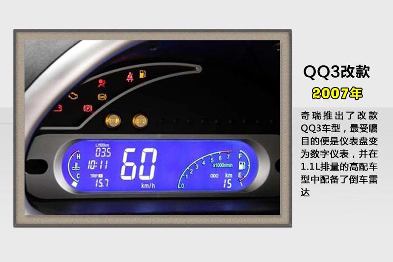 奇瑞QQ2013款历代车型 33 奇瑞 图片说车高清图片