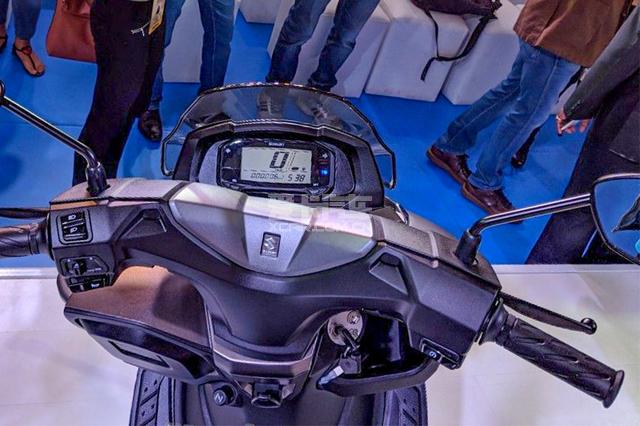 Burgman 125;印度车展;铃木Burgman 125;汉堡人