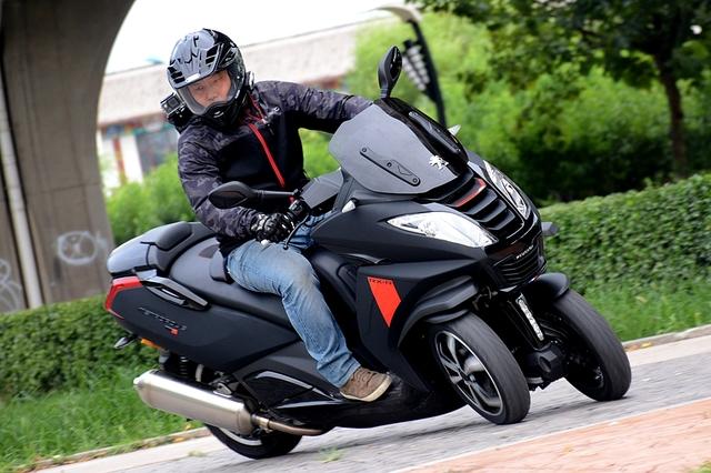 标致;标致摩托;标致倒三轮摩托;metropolis 400