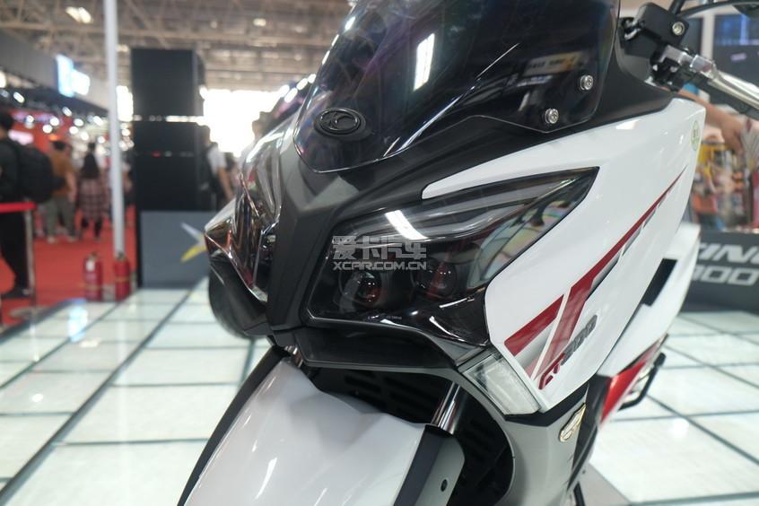 北京摩展;摩托车展;国展;光阳CT300