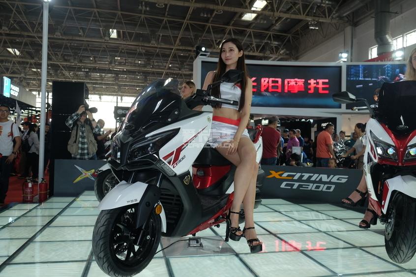 北京摩展;国际摩托车展;摩托展;新国展;光阳CT300