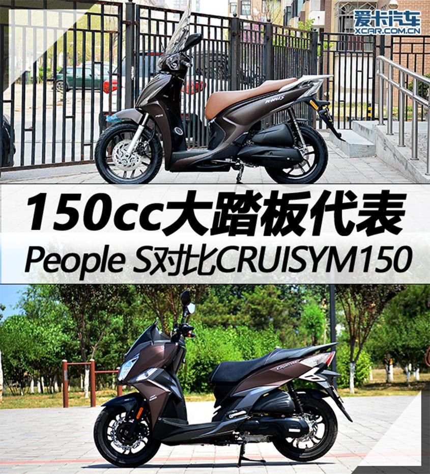 People S对比CRUISYM150