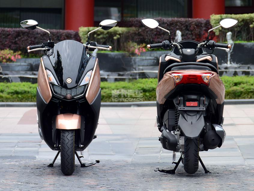 巡鹰;雅马哈;巡鹰125;155摩托车;踏板摩托车;试驾巡鹰
