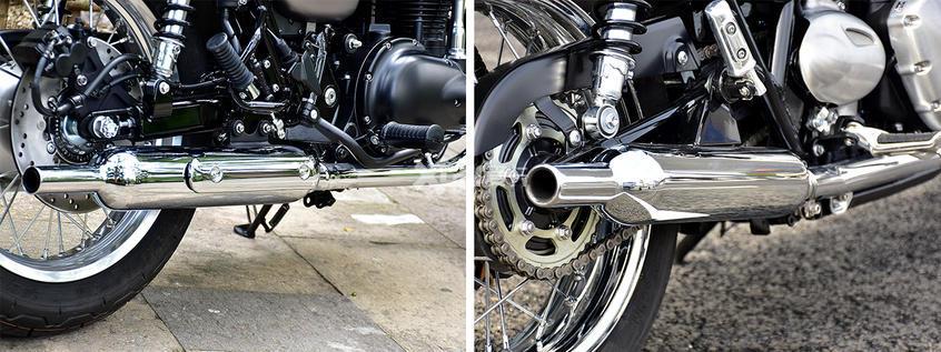 川崎;Kawasaki;W800;凯旋;Triumph;Bonneville T100