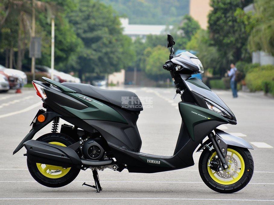 雅马哈最新款踏板车-福禧125海天蓝