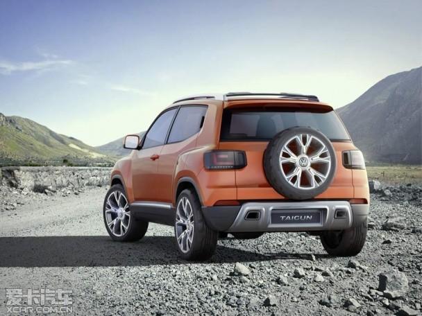 大众Taigun概念车发布 配外挂式备胎
