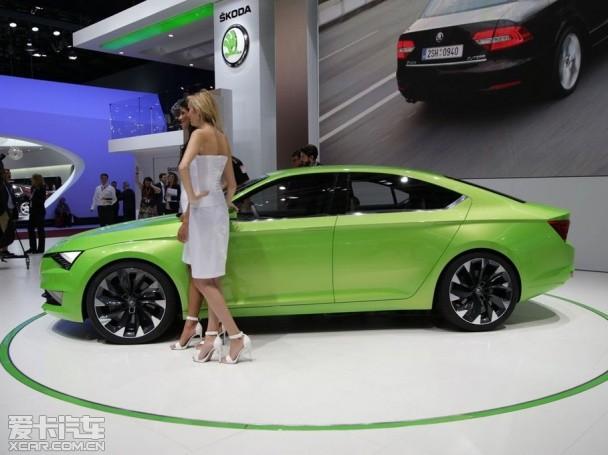 斯柯达Vision C概念车日内瓦车展发布