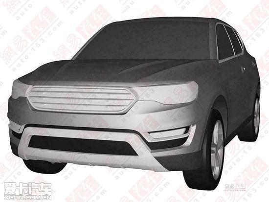 哈弗H7量产版申报图曝光 北京车展亮相