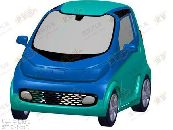 众泰E200电动车申报图