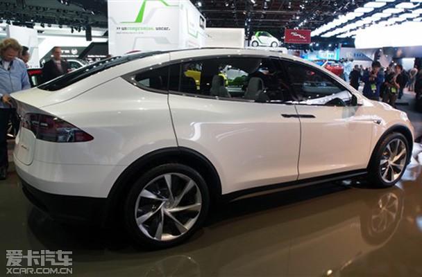 【图文】特斯拉新车计划 Model X量产版明年发布 爱卡汽车