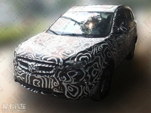 北汽SUV C61X谍照 预计明年上半年上市