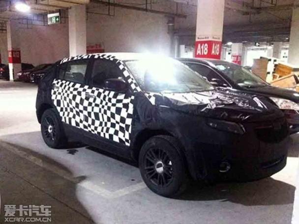观致suv造型设计上与上海车展上参展的观致cross hybrid概念高清图片